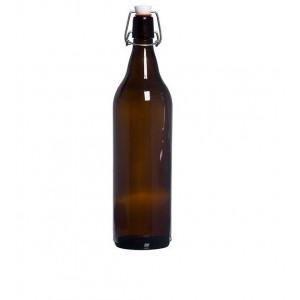 Бутыль стеклянная, многоразовая 1л.
