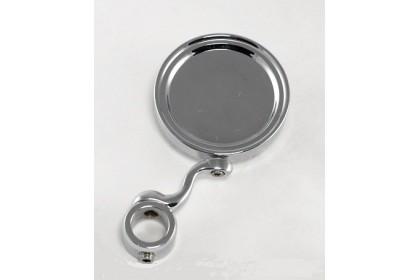 Акция! Медальон на изогнутой ножке хром 7 Евро.