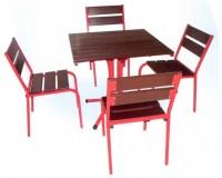 Тандем плюс Комплект деревянной мебели 800х800